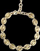 Goldfarbene Notre-V Kette Ketting Schakel #4